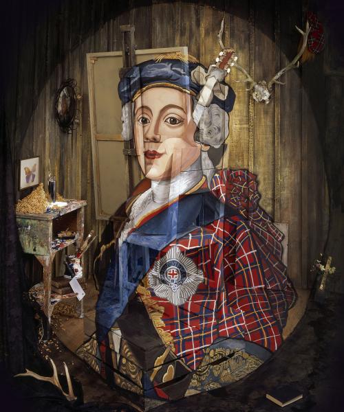 Portrait of Charles Edward Stuart (after Mosman)