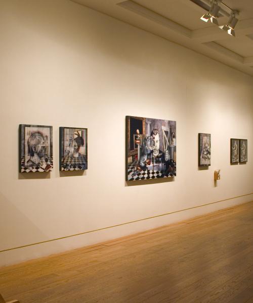 Exhibition View, Natural Magic, Royal Scottish Academy, Edinburgh 2009