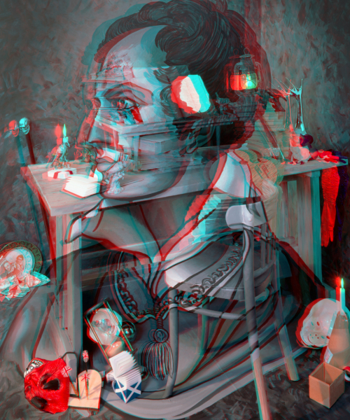 Negative Sublime II (Anaglyph)