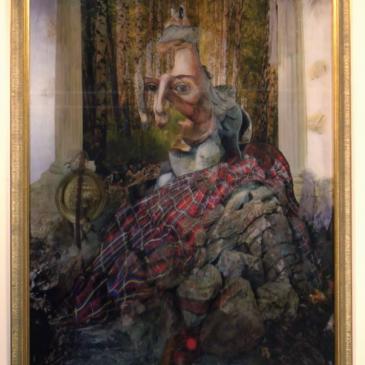 Lenticular Print 'Pretender' 2014, Matthew Gallery, Dundee 2020