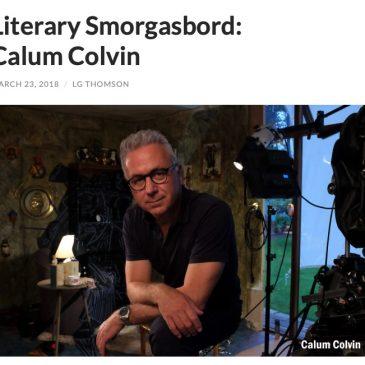 Literary Smorgasbord: Calum Colvin